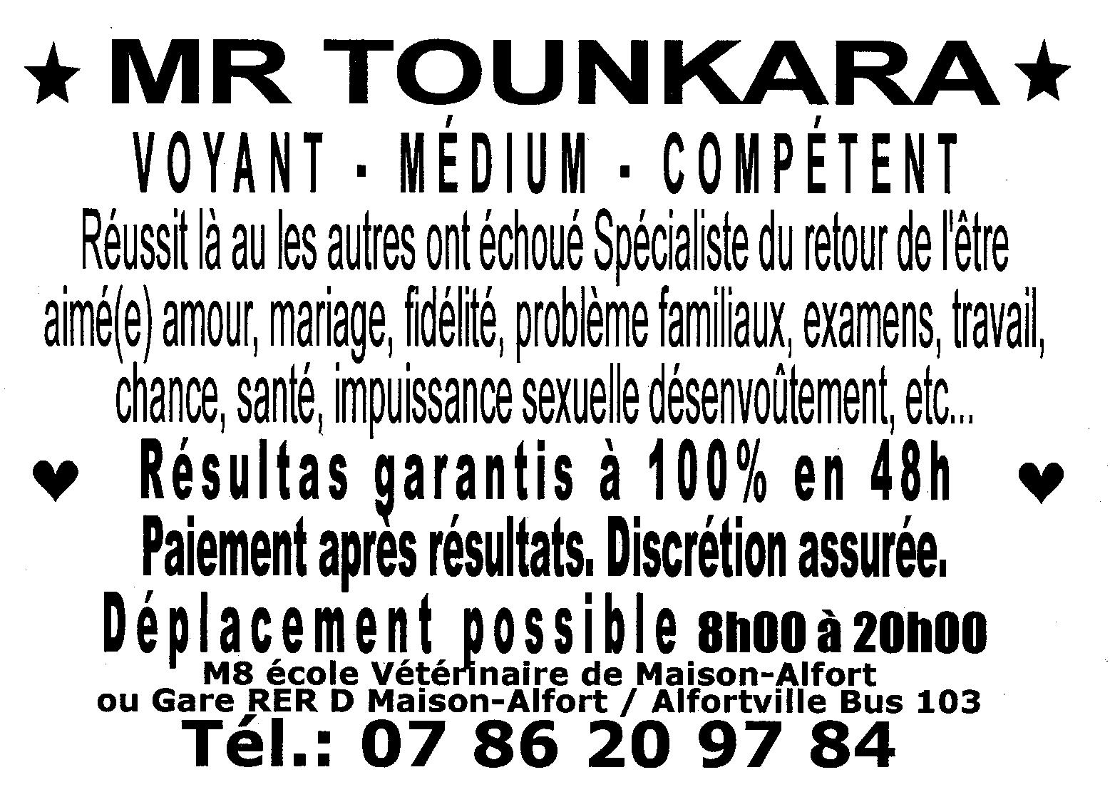 Mr Tounkara