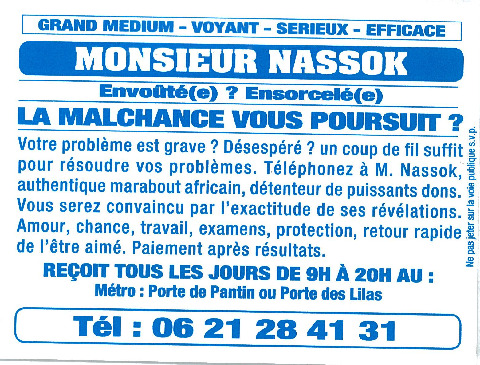 Monsieur Nassok