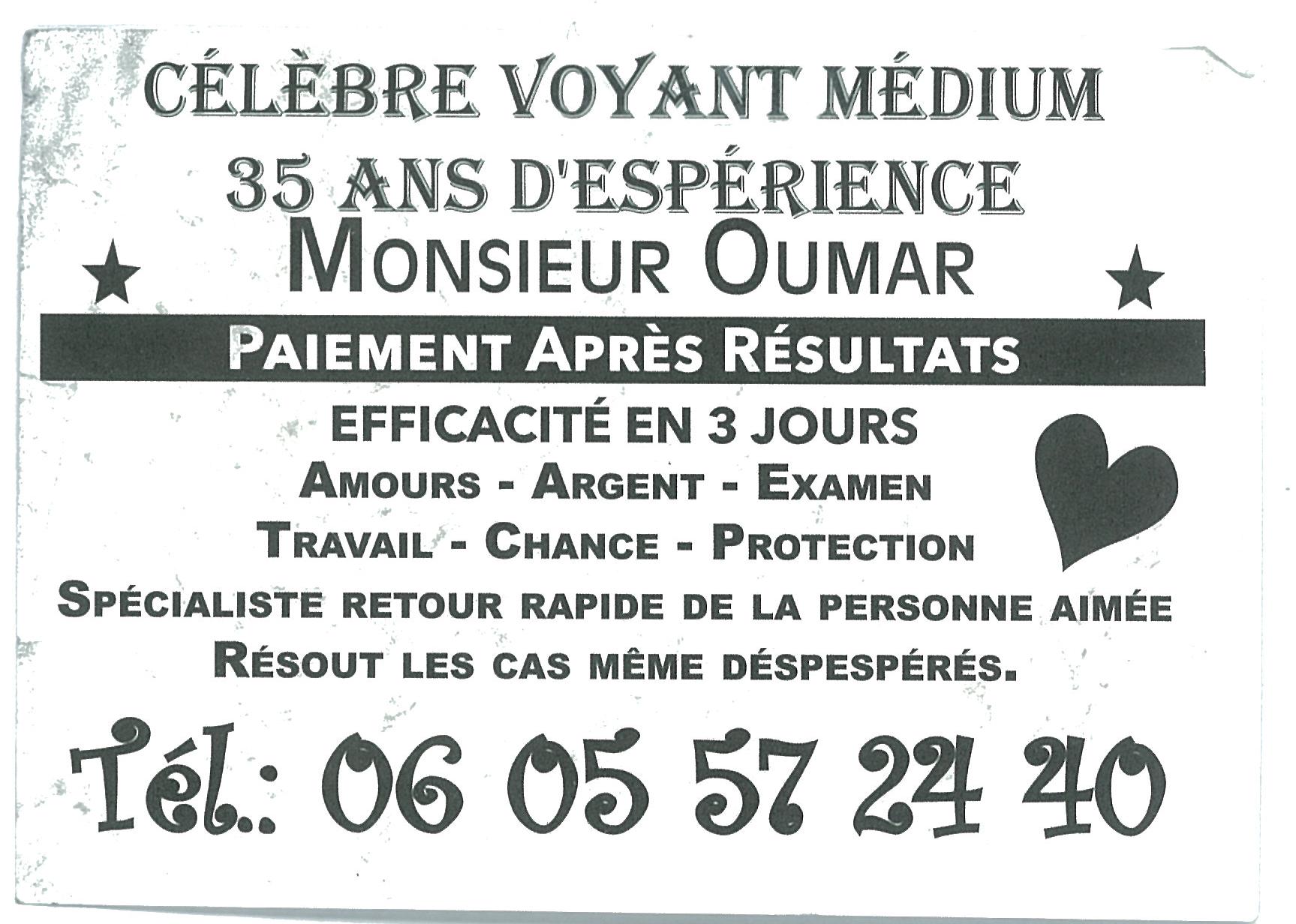 Monsieur Oumar