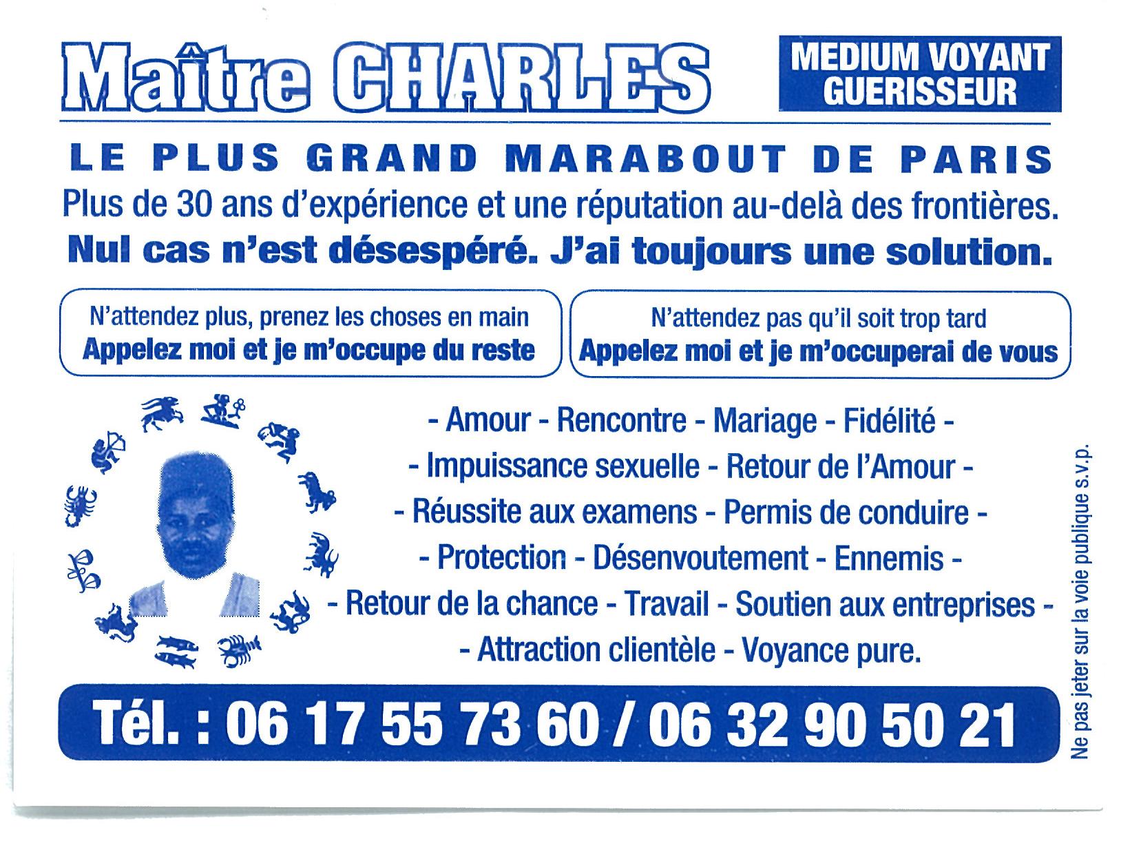 Maitre Charles Blue