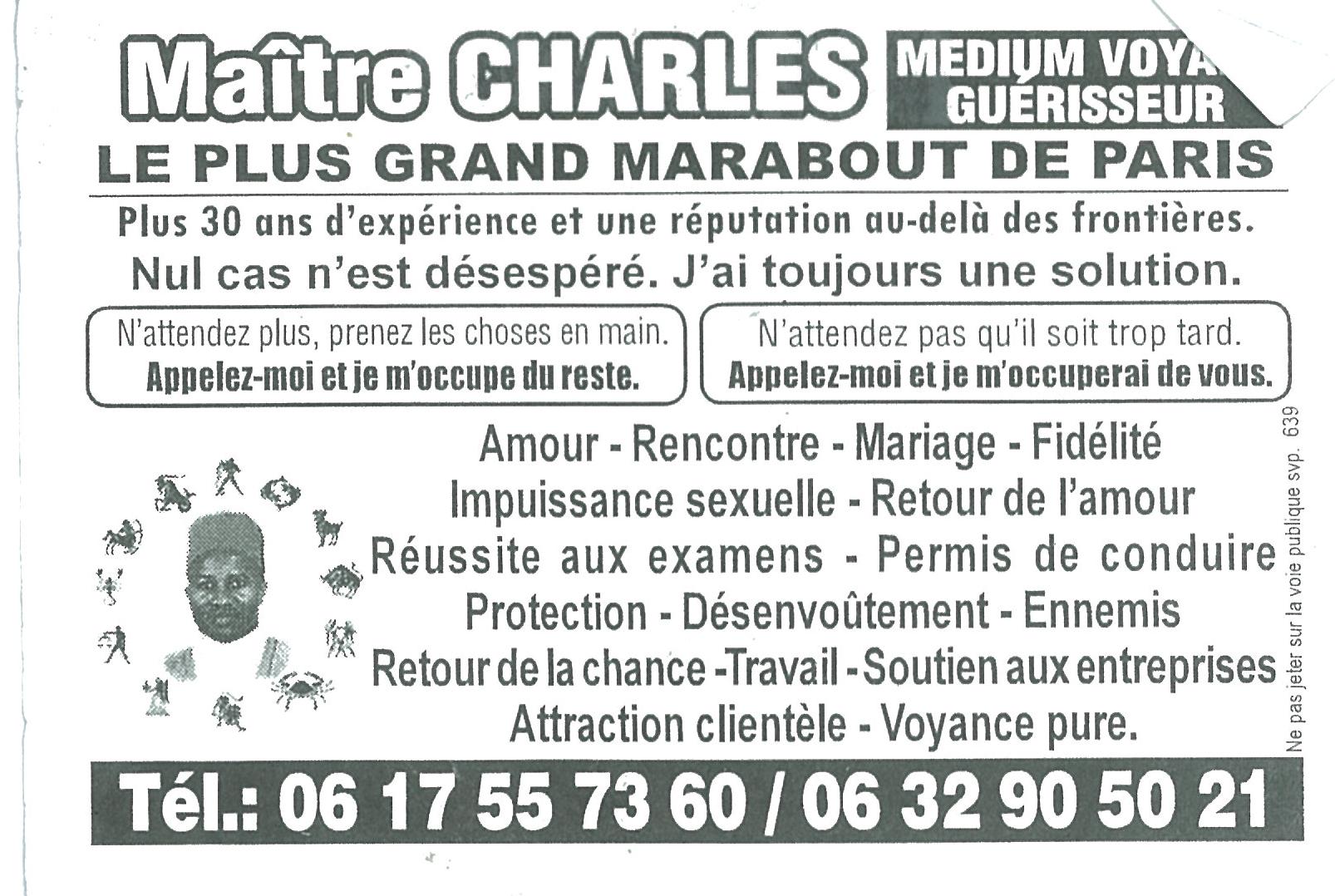 Maitre Charles White
