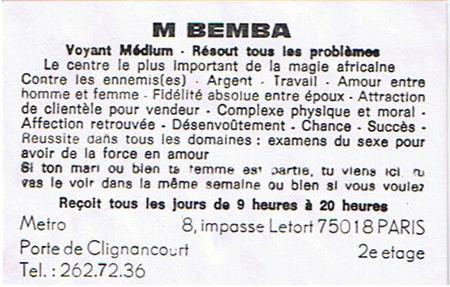 bemba-clignancourt